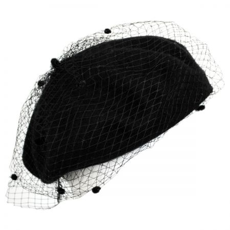 Netting Wool Beret alternate view 1