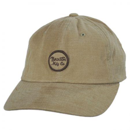 Wheeler LoPro Strapback Baseball Cap Dad Hat alternate view 9
