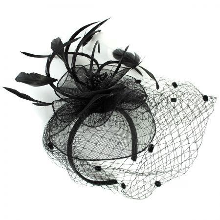 Black Fascinator at Village Hat Shop e1c798b4295