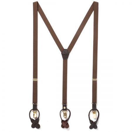 JJ Skinny Suspenders - Brown alternate view 1