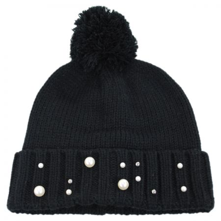 Pearl Cuff Beanie Cap alternate view 1
