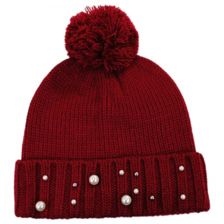 Pearl Cuff Beanie Cap alternate view 5