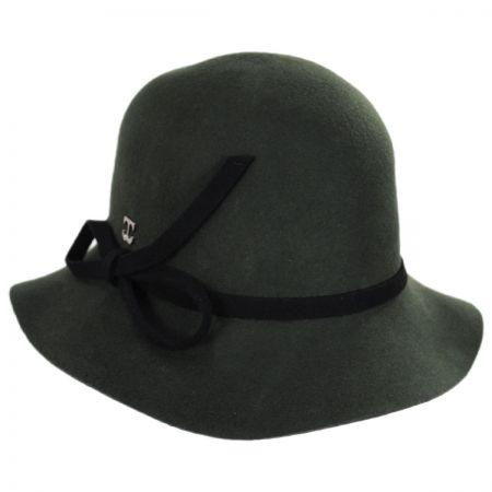 78d241f23c6 Felt Cloche at Village Hat Shop