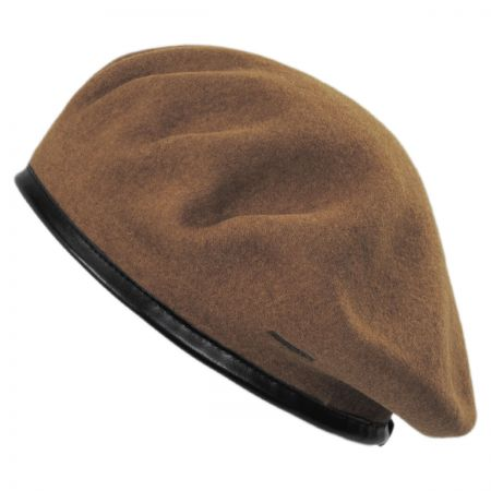 Monty Wool Military Beret alternate view 7