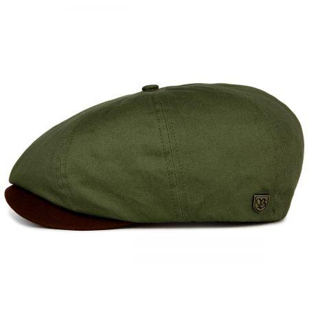 Brixton Hats Brood Cotton Twill Newsboy Cap
