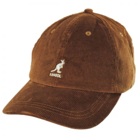 Logo Corduroy Strapback Baseball Cap Dad Hat alternate view 17