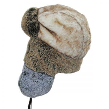 Color Block Trapper Hat alternate view 1