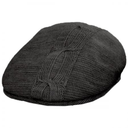 Cable Wool Blend Ivy Cap