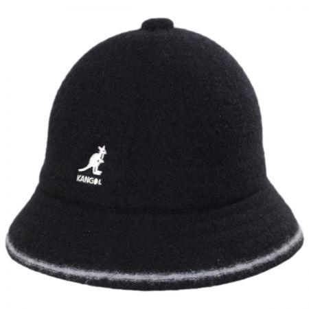Striped Casual Wool Bucket Hat alternate view 1