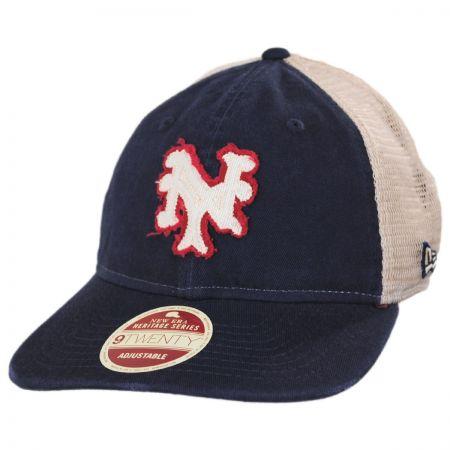 New York Mets 1962-1980 Strapback Trucker Baseball Cap