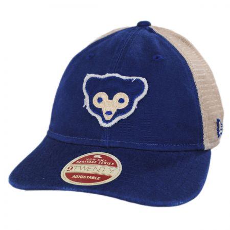 Chicago Cubs 1969 Strapback Trucker Baseball Cap
