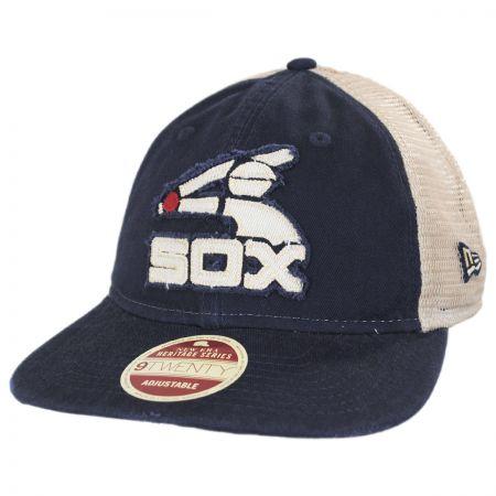 New Era Chicago White Sox 1976-1981 Strapback Trucker Baseball Cap