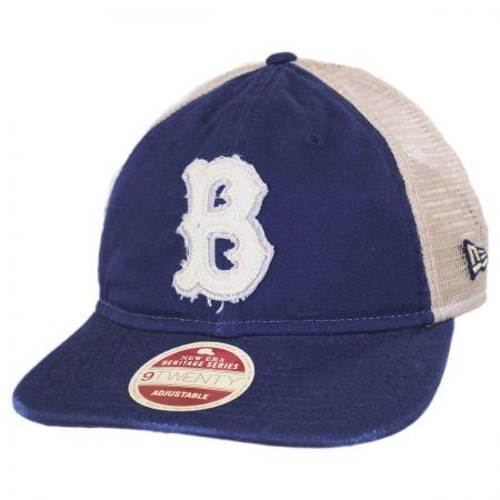 Brooklyn Dodgers 1949-1957 Strapback Trucker Baseball Cap