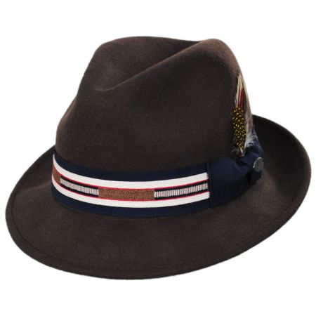 1ffc40717e0e5 Fedora With Feather at Village Hat Shop