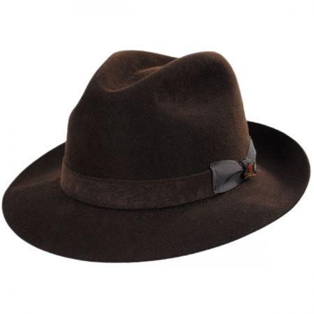 e97c0a46 Fur Felt Fedora at Village Hat Shop