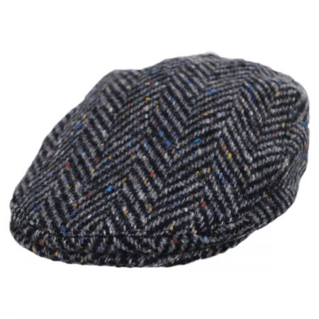Failsworth Magee 1866 Donegal Tweed Longford Wool Flat Cap
