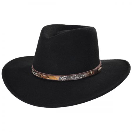 Stetson Linwood Wool Crushable Outback Hat f8183bd05df