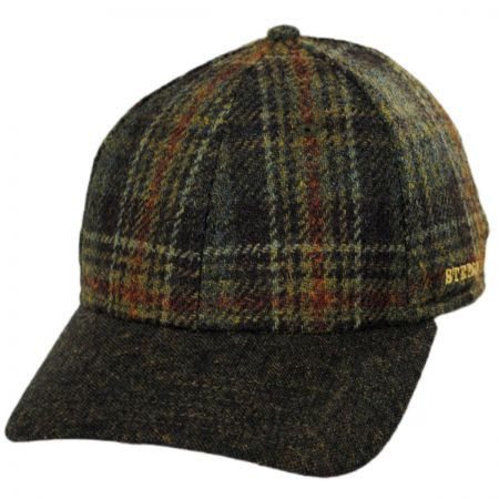 Plaid Strapback Baseball Cap alternate view 1