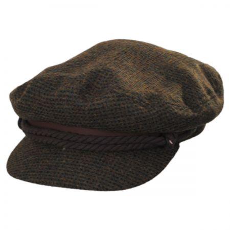 Tweed Wool Blend Fiddler Cap alternate view 9