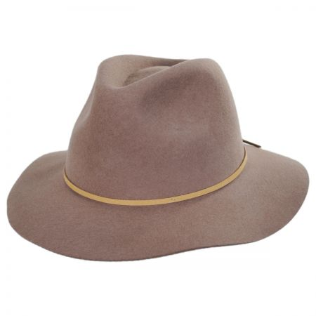 Wesley Wool Felt Floppy Fedora Hat alternate view 88