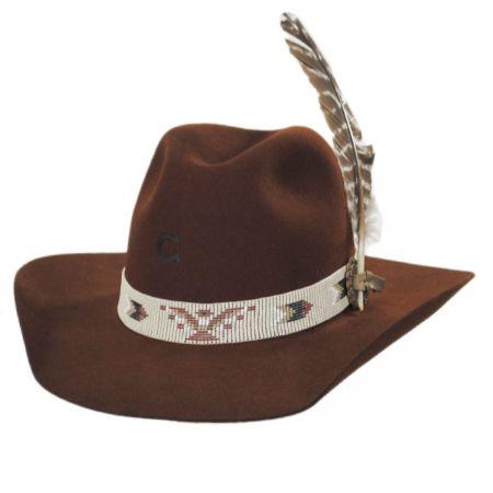 Charlie 1 Horse Rain Bird 5X Wool Felt Western Hat