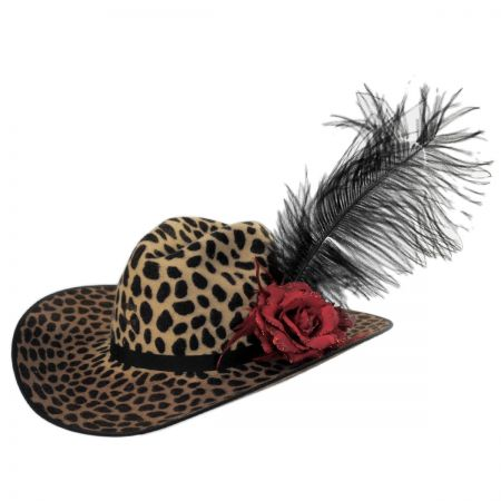0cea74775 On the Prowl Wool Western Hat