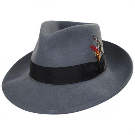 Mens Grey Fedora at Village Hat Shop c0270d1a1f54