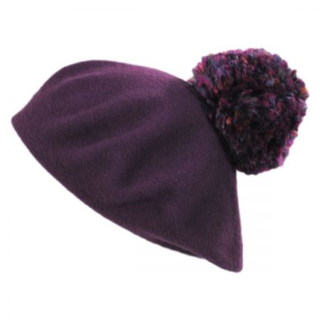 Meridian Pom Wool Beret alternate view 4