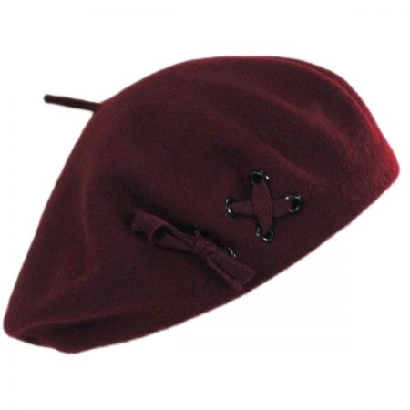 Parkhurst Pierced Wool Beret