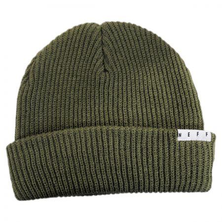 Fold Knit Beanie Hat alternate view 1