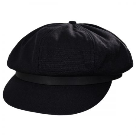 Leather Fisherman Cap at Village Hat Shop 03507f37fd5