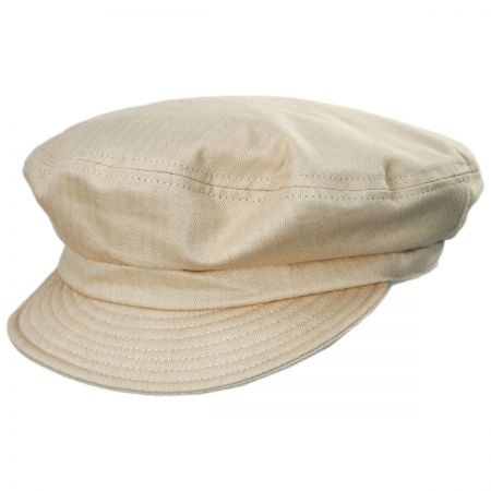Unstructured Cotton Fiddler Cap alternate view 7