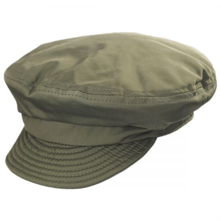 Unstructured Cotton Fiddler Cap alternate view 17