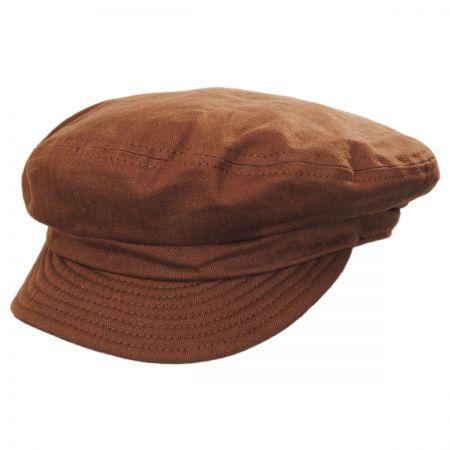 Unstructured Cotton Fiddler Cap