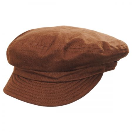 Unstructured Cotton Fiddler Cap alternate view 34
