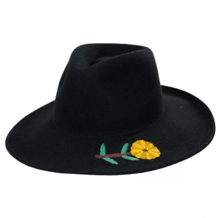 86a58dbb1166b ... sale brixton fedora at village hat shop cd67c f625d