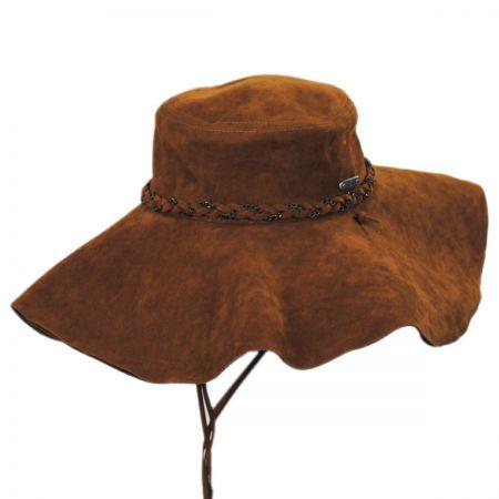 Leather Floppy at Village Hat Shop 7c1e94f24f2