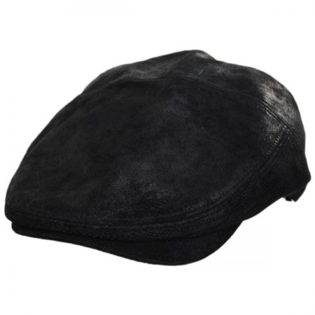 Ivy Weather Leather Duckbill Flat Cap alternate view 1