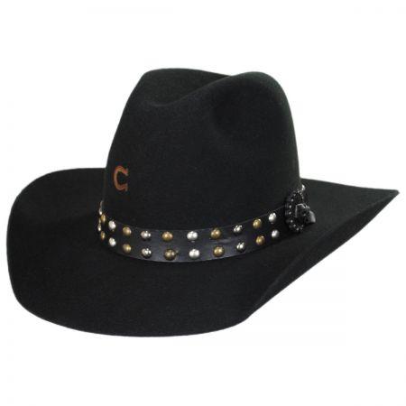 Charlie 1 Horse Salty Broad Wool Western Hat