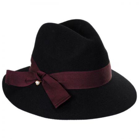 Bardot Wool Fedora Hat