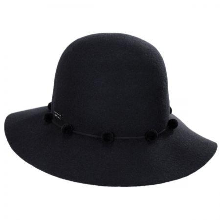 Frida Round Crown Wool Hat