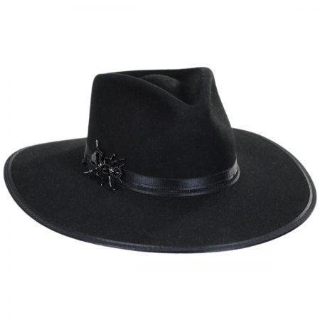Stetson Queenie Wool Felt Fedora Hat