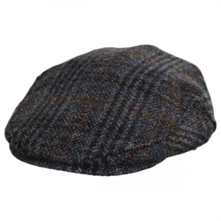Stefeno Flavio Harris Tweed Earflap Wool Ivy Cap