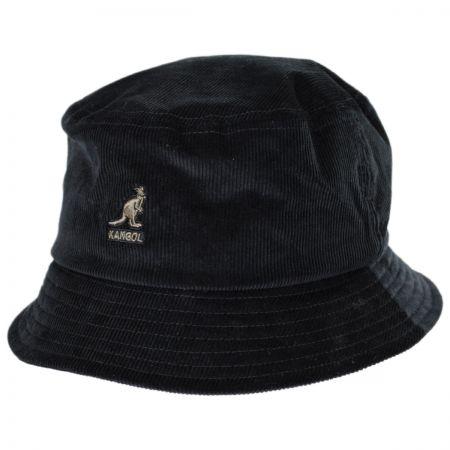 Corduroy Cotton Blend Bucket Hat