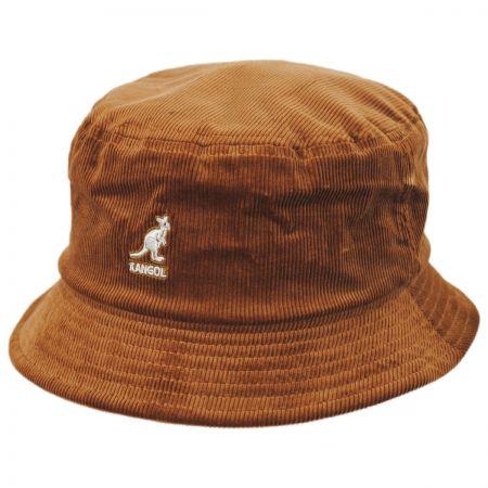 Kangol Corduroy Cotton Blend Bucket Hat