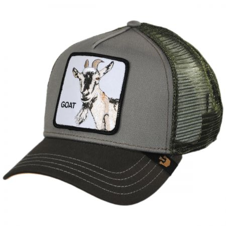 Goat Trucker Snapback Baseball Cap alternate view 1