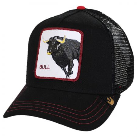 Bull Trucker Snapback Baseball Cap alternate view 1