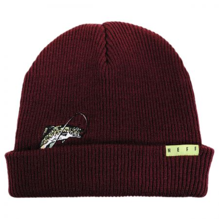 Neff Peek A Boo Fish Beanie Hat