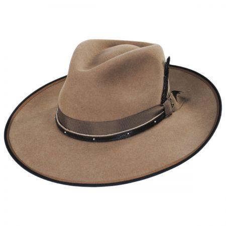 Latitude Wool Felt Crossover Hat alternate view 1
