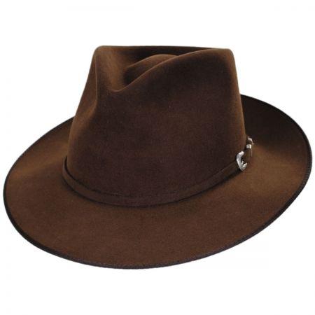 G. D. Rye Firm Fur Felt Fedora Hat